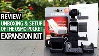 DJI Osmo Pocket Expansion Kit Unboxing, Setup & Review