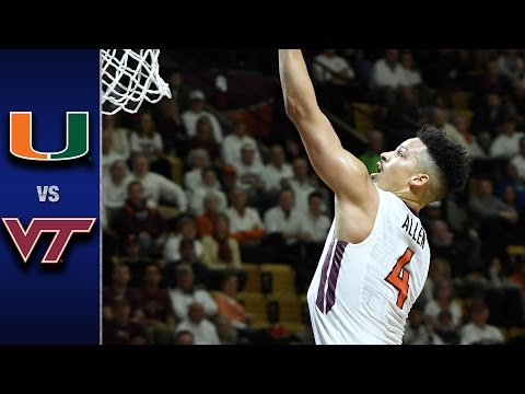Miami vs. Virginia Tech Men