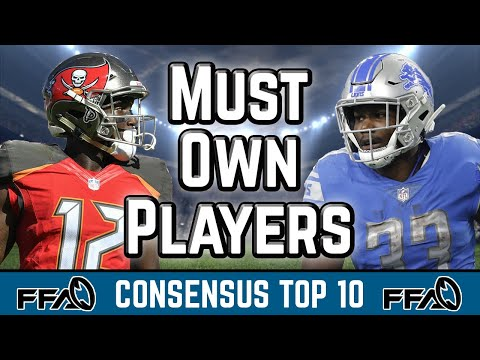 MUST Own Players | Consensus Top 10 | 2019 Fantasy Football