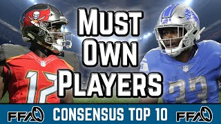 must-own-players-consensus-top-10-2019-fantasy-football