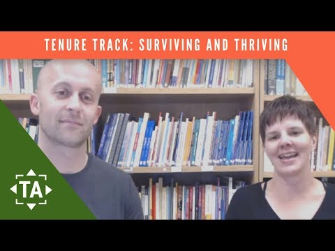 First Year On The Tenure Track: Scholarly Advice To Survive & Thrive