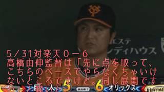 巨人12連敗中の高橋由伸監督のコメントを振り返る。【球団新記録】 #12...