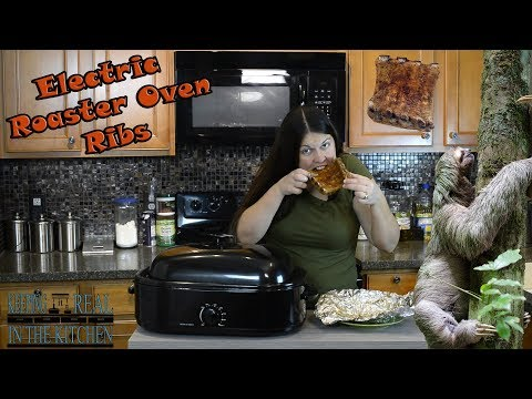 Electric Roaster Oven Ribs! Episode 120