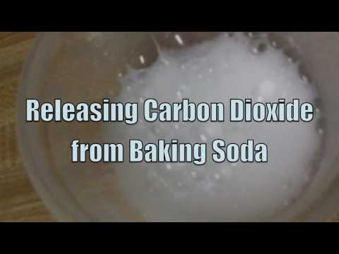 Releasing Carbon Dioxide from Baking Soda