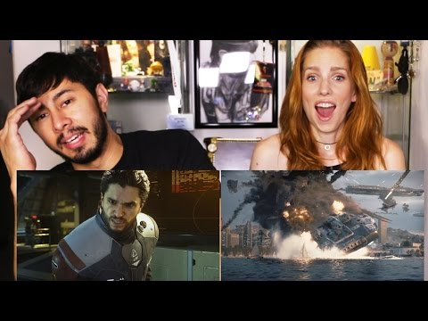 CALL OF DUTY INFINITE WARFARE Story Trailer Reaction w/ Bre!