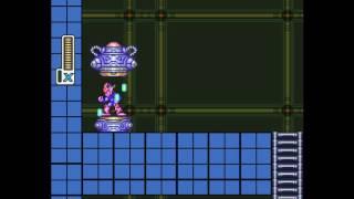 Megaman X - Protótipo - Gale Armor