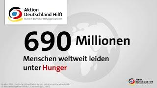 Hunger weltweit: So entwickelt sich die Not