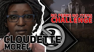 Cloudette Morel | NO perks NO items Challenge | Dead By Daylight #3 | w/ Guga Undecided Tomek