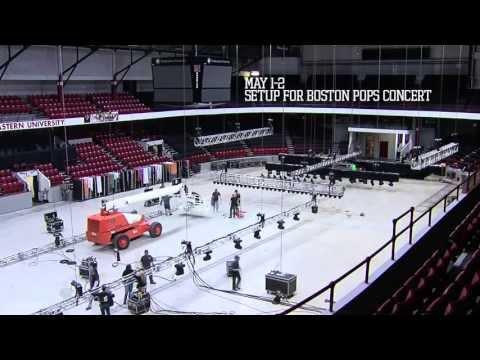 Northeastern University Matthews Arena Time Lapse