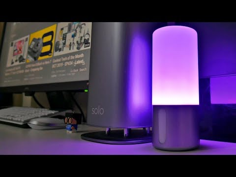 Ultra COOL Wireless Charging LED Lamp - Qi Lamp - Under $40
