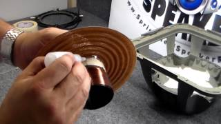 How to repair a Kicker L7 subwooofer - Recoil, Recone