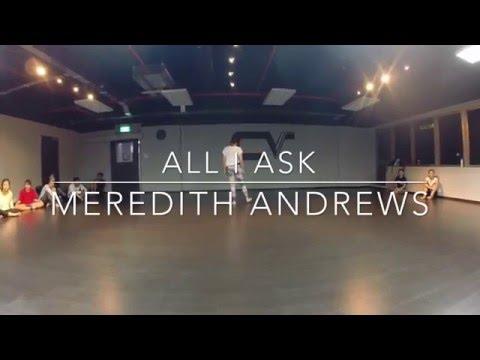 All I Ask  Meredith Andrews  Choreography  Cheryl