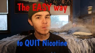 How I SUCCESSFULLY Quit Vaping/Nicotine | The EASY Way!