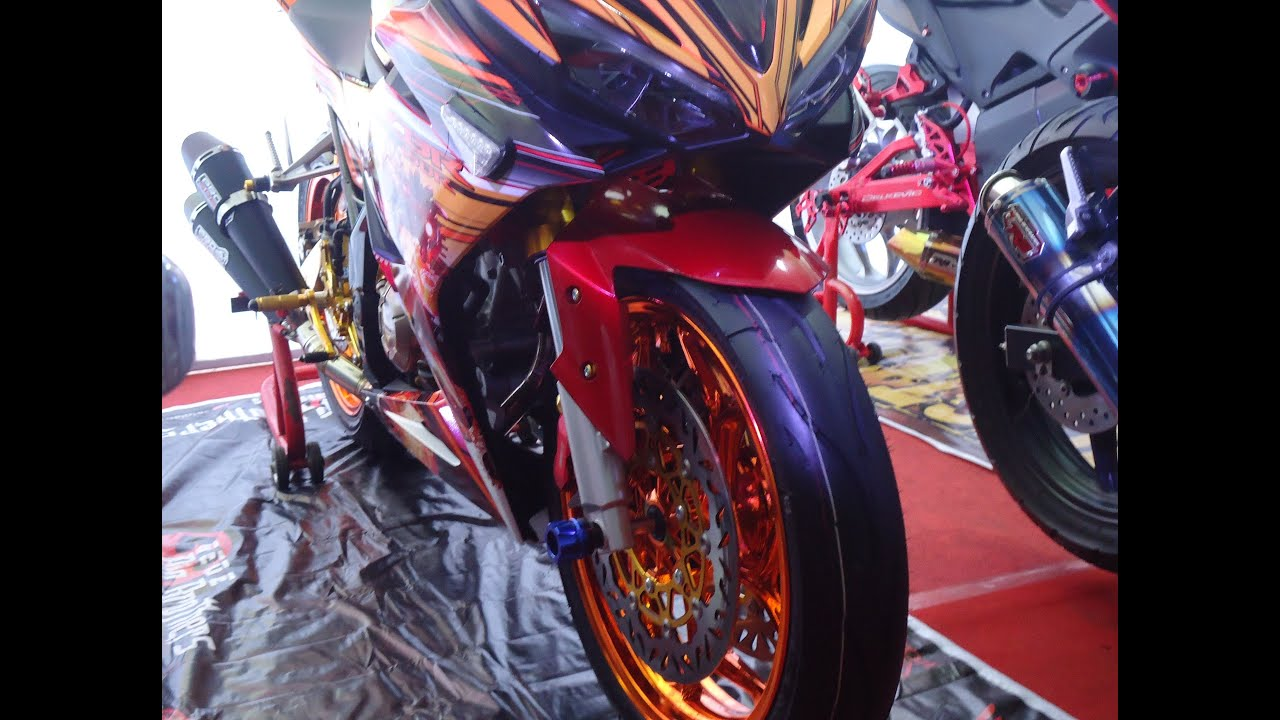 Kereen Kontes Modifikasi All New Honda CBR150R Facelift 2016