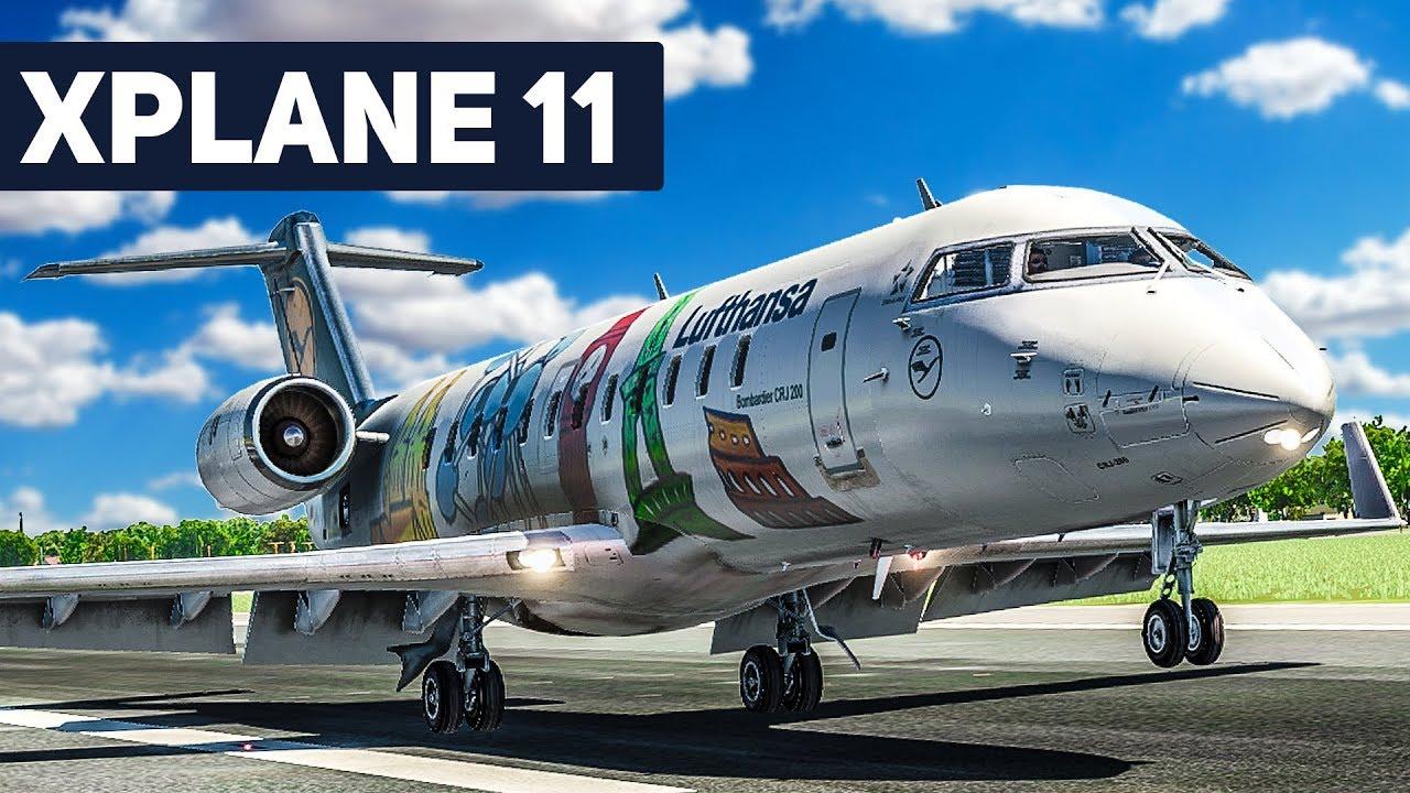 x plane 11 crj 200 frankfurt berlin 2 der take off flug simulator youtube. Black Bedroom Furniture Sets. Home Design Ideas