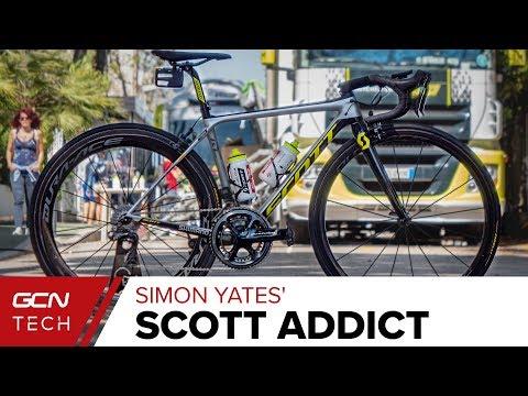 Simon Yates' SCOTT Addict Race Bike   Michelton SCOTT Pro Bike