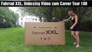 Fahrrad XXL. Unboxing - Carver Tour 100 - 28 Zoll -Damen Sport