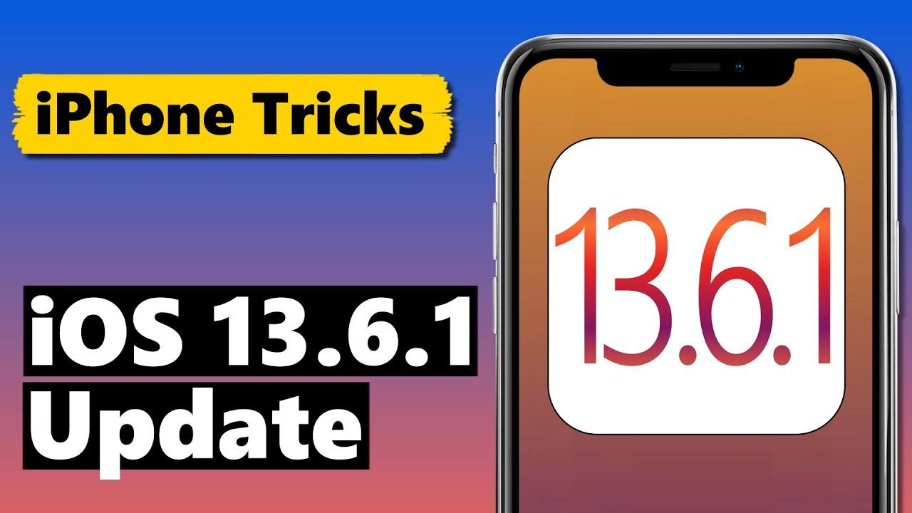 iOS 13.6.1 Update - klein, aber trotzdem WICHTIG ⚠️
