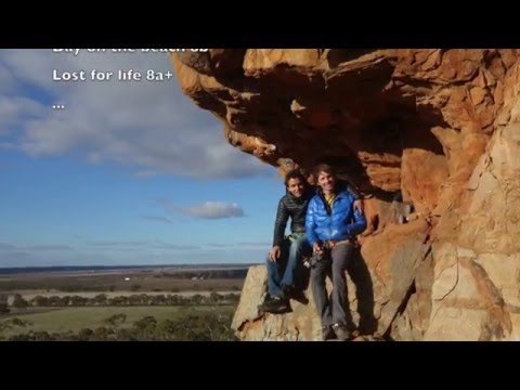 Enzo Oddo and Kevin Aglae in the Grampians