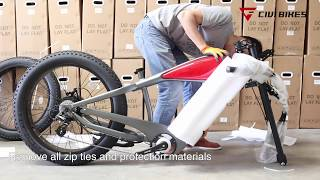 Revi Bikes (Civi Bikes) Cheetah - Café Racer Electric Bike Assembly