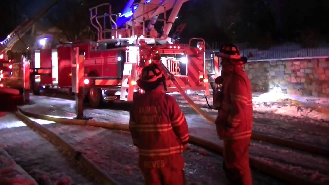 3010 Rose Creek Court Fire Oakton Va Northern Virginia Fire Buffs Youtube