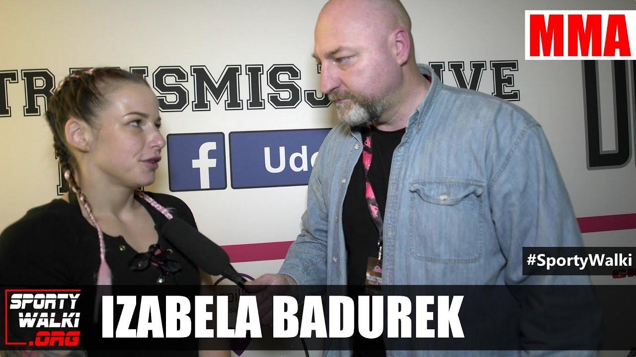Izabela Badurek: Nie dałam z siebie nawet 50% możliwości