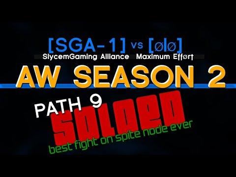 BEST / Strange fight on spite Node Path9 | Alliance War | Season 2 | MARVEL Contest of Champions