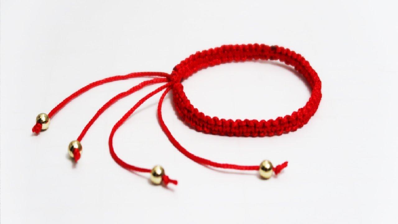 HƯỚNG DẪN LÀM VÒNG ĐEO TAY MAY MẮN ĐƠN GIẢN, TẾT vòng đeo tay ĐẸP handmade kitty/handmade bracelet