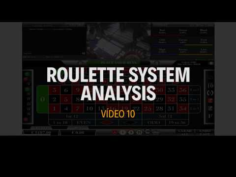 Roulette System Analysis - Vídeo 10 - 700 Profit -Single Cycle - Single Bet