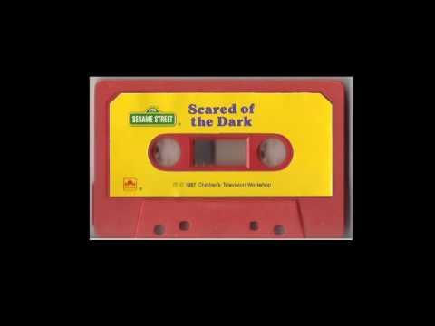 Sesame Street Afraid Of The Dark Cassette Tape