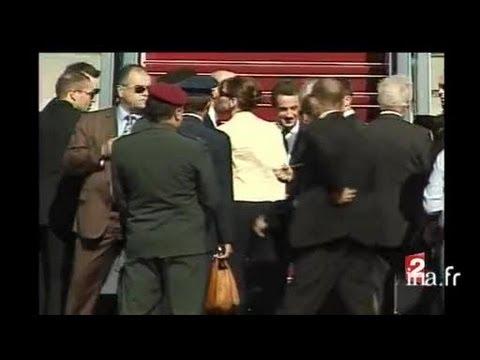 [N. Sarkozy : Fin Visite Israël Et Incident]