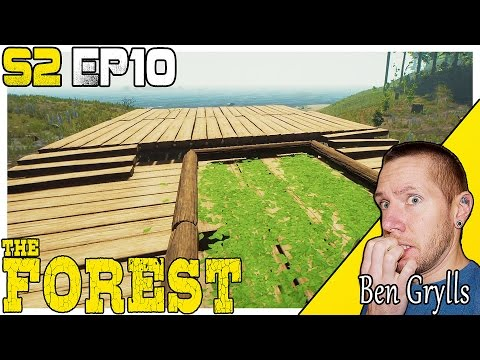 OUTDOOR ENTERTAINMENT! | THE FOREST | W/ Ben Grylls ~ S2 E10 ~ (Update 0.57)