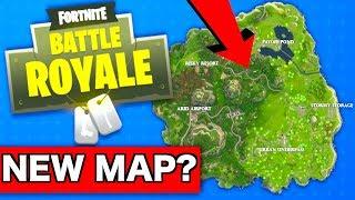 Fortnite getting a NEW MAP soon??