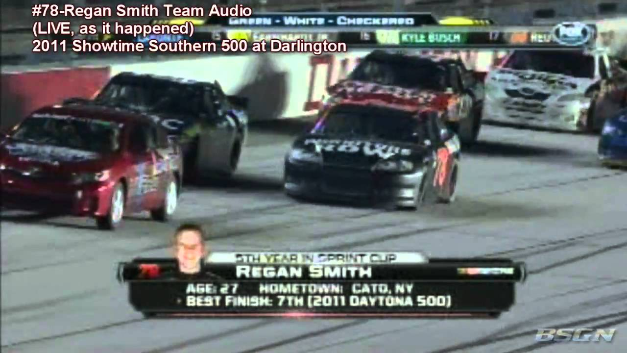 Scanner Audio - #78-Regan Smith WINS The 2011 Showtime Southern 500!