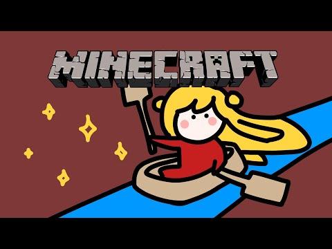 【Minecraft | 🌈KR Server】 氷の道を作ります2 /얼음길을 만듭니다2 【NIJISANJI KR | セフィナ】