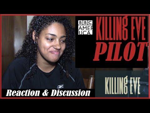 Killing Eve 1x01 PILOT Reaction- Nice Face Reaction & Discussion