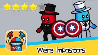 We're Impostors Day4 Walkthrough Rescue Squad Recommend index four stars