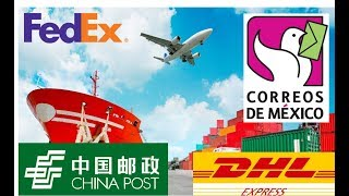 Importar de China - FEDEX, DHL o China post