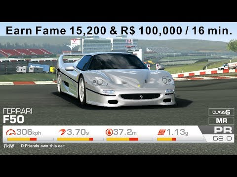 Real Racing 3 Farming R$ & Fame In Master Category (Slow Down Bots)