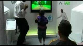 Wii Fit & Nintendo DS At London Heathrow Airport