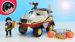 Bankraub mit dem Amphibien Fahrzeug - Playmobil Polizei - KARLCHEN KNACK