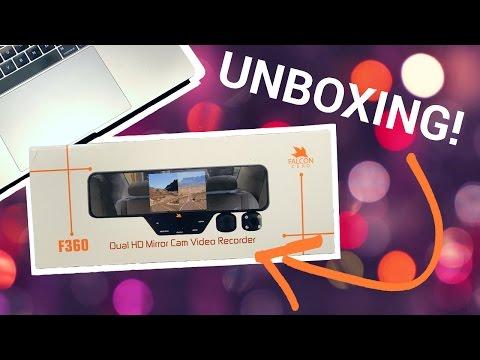 Falcon Zero F360 Dash Cam | UNBOXING | Part I