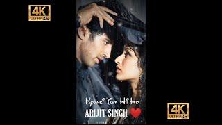 Tum Hi Ho   Arijit Singh  New Love Song Full Screen Lyrics Status ❤️ /World of status ❤️