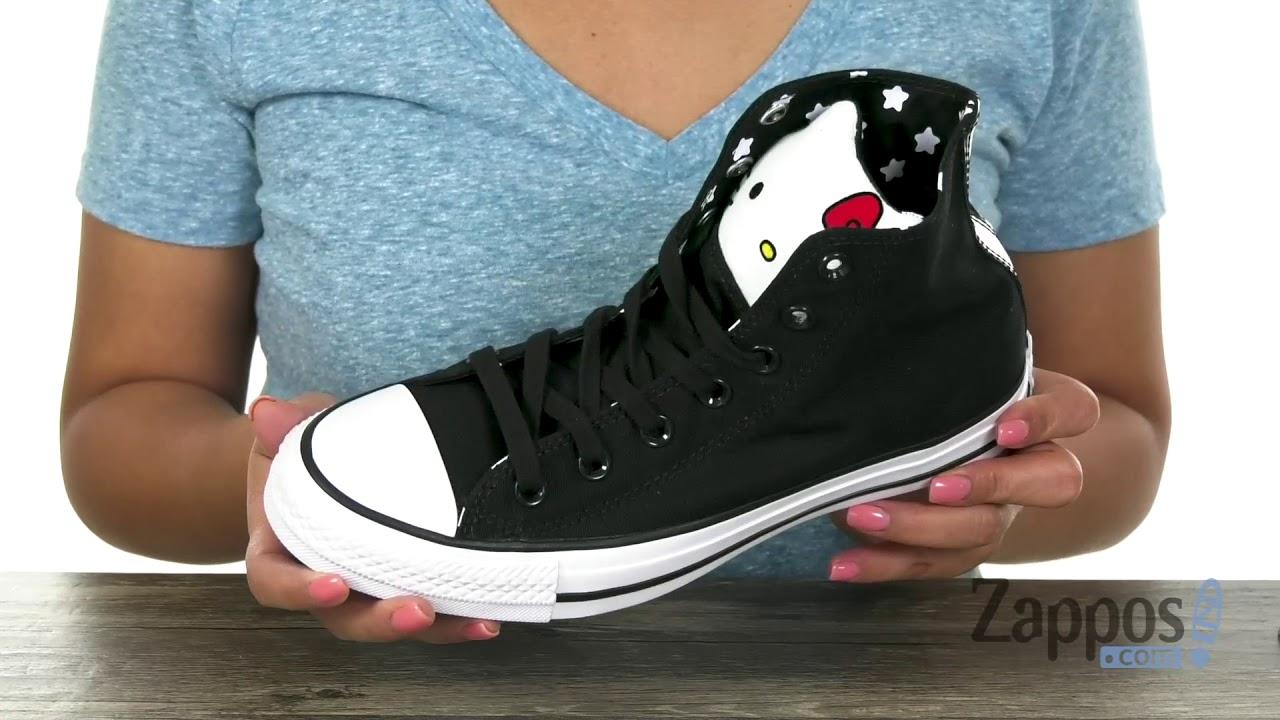 Converse Hello Kitty® Chuck Taylor All Star - Hi SKU  9145940 - YouTube ec3dc88e5