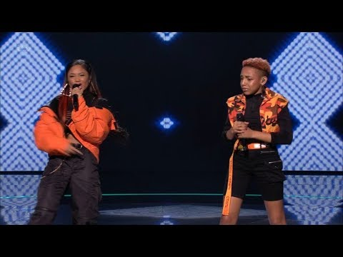 The X Factor UK 2018 Aaliyah & Acacia Live Semi-Finals Night 2 Full Clip S15E26