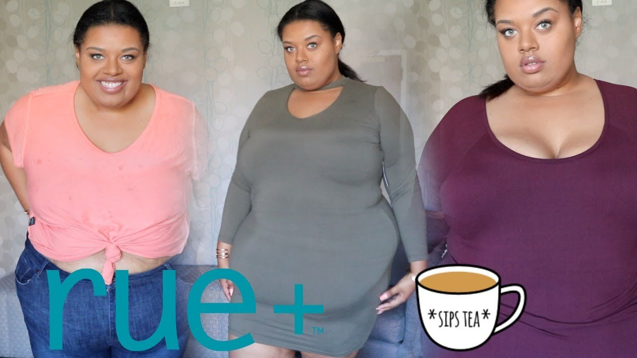 6edef8d77a The Tea on my Rue 21 Plus Size Haul + Try On