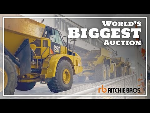 Ritchie Brothers Auction Orlando 2020 - Worlds Largest Heavy Equipment Auction!