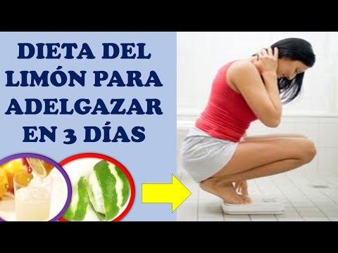 Dieta del limon para adelgazar en 3 días