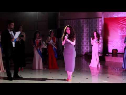 Речь Карины Каграманян на конкурсе Мисс армянская красавица Ставрополья 2016