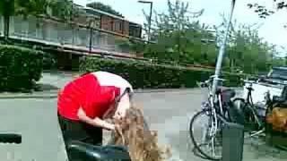 Op de fiets met Shaunie